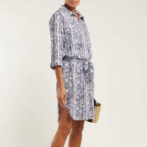 Heidi Klein python shirt dress